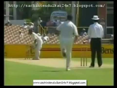 Sachin Tendulkar 3rd Test Century  Perth 1992