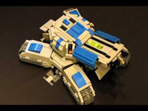 Lego Siege Tank на радиоуправлении