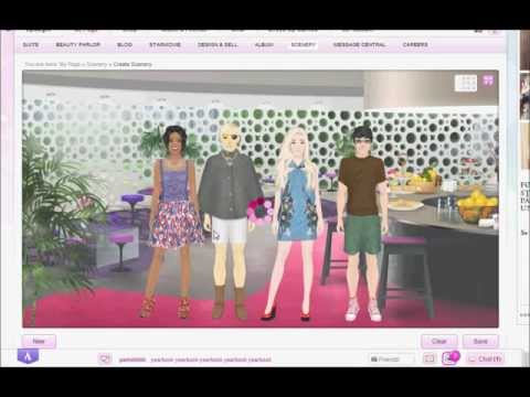 Stardoll Academy Walkthrough Task 7: Food Fight
