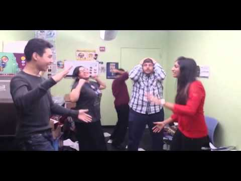 Finals are over reactions - Baruch College 2014