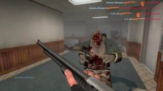 CS:S - Left 4 Dead MOD Gameplay