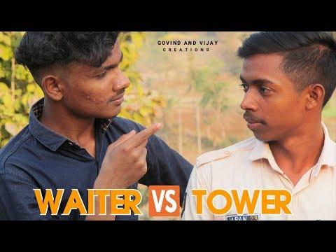 Waiter vs Tower | Desi Kukna Comedy | Govind Bhoya