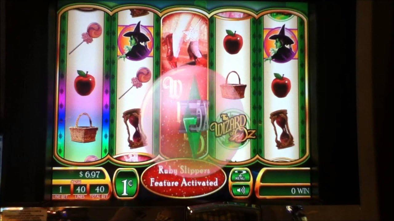 Wizard of oz slot machines in las vegas