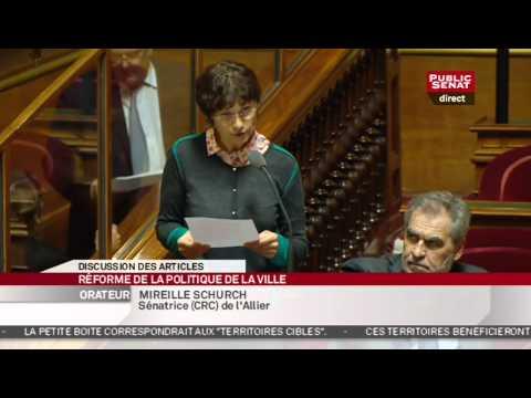 En Séance - Projet de réforme de la politique de la ville