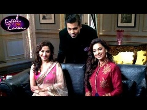 KOFFEE WITH KARAN Juhi Chawla & Madhuri Dixit SPECIAL 8th December 2013 Episode