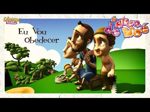 Crianças Diante do Trono - EU VOU OBEDECER - DVD Arca de Noé
