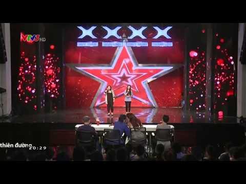 Vietnam's Got Talent 2014: Song Ca Hương Trang, Huyền Châu - Tập 1 - Ngày 28/09/2014