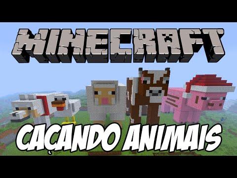Minecraft PS4 - Caçando animais e aumentando a fazenda