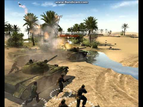 Men of War Assault Squad - Desert defense RU vs. Opfor
