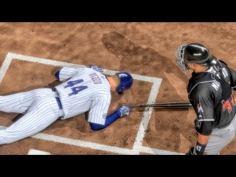 RIZZO HIT BY PITCH! MLB 16 THE SHOW Road to the Show Gameplay Ep. 21