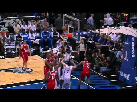 NBA Playoffs 2011: Dwight Howard Highlights against the Hawks (April 16, 2011)