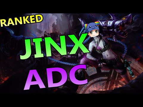How To Jinx ADC - Full Ranked Gameplay Commentary