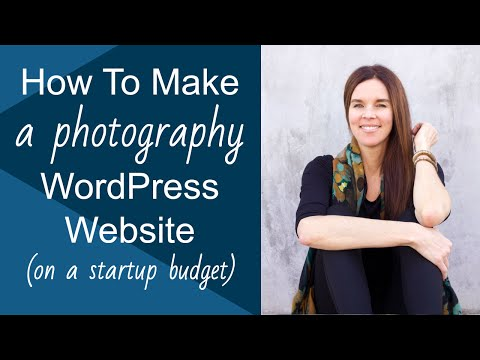 0 How To Create A WordPress Website (FREE Photography Theme)! 2013