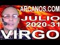 Video Horóscopo Semanal VIRGO  del 26 Julio al 1 Agosto 2020 (Semana 2020-31) (Lectura del Tarot)