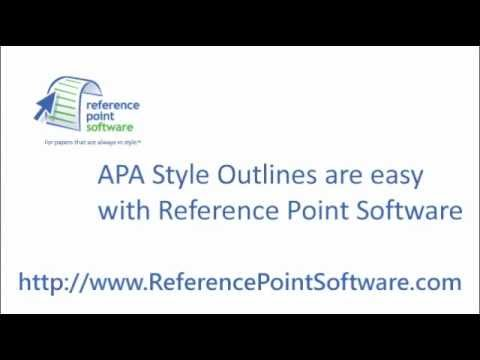 apa style program