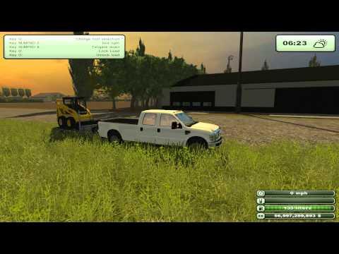 PC: Austin: Farming Simulator 2013 Ep. 4 - Teaching the first new guy