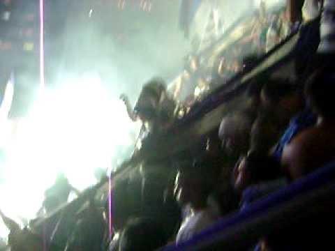 Explosion azul la Hinchada mas arrecha del ECUADOR Solo le pido  A dios.AVI