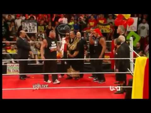 Hulk Hogan Vs Brock Lesnar Teaser by WWE 8/11/2014