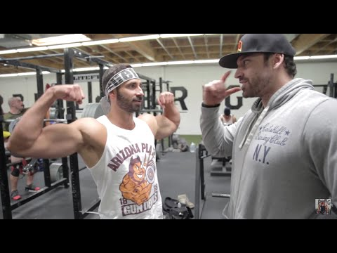 LEG DAY WITH DOM MAZZETTI | BRADLEY MARTYN