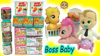 The Boss Baby + My Little Pony Babies - Shopkins, MLP Stack'Ems Surprise Blind Bags