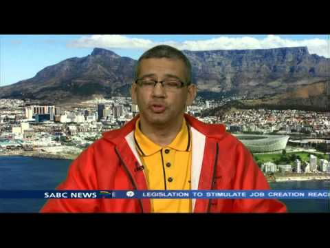 Tony Ehrenreich talks about the anniversary of the De Doorns protests that was good.