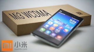 Xiaomi Mi3 (WCDMA Snapdragon 800) Unboxing & Hands On