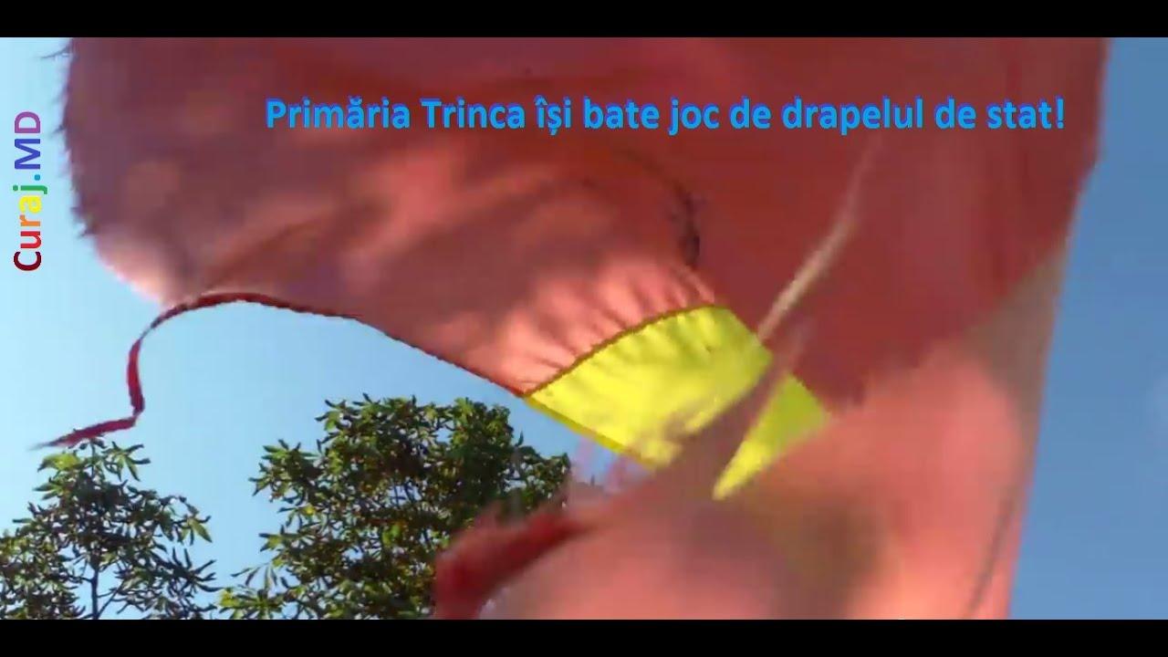 Tricolor zdrențăros la Primăria #Trinca, Edineț
