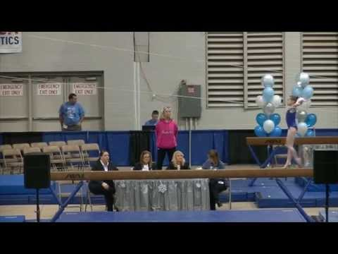 CLAIRE TUNNELL - AGE 12 - LEVEL 10 - ELITE BEAM COMPULSORY