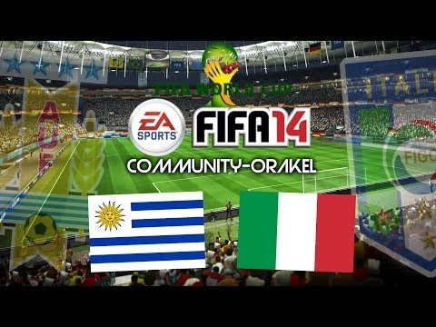 FIFA WM 2014 COMMUNITY-ORAKEL | #09 | Uruguay - Italien [Deutsch/HD]