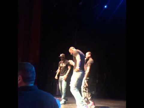 Dwyane Wade, Udonis Haslem and LeBron James - Blurred Lines #Battioke2014