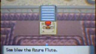 Pokemon Diamond/Pearl: How To Get The Azure Flute And