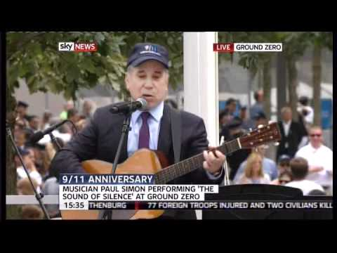 Paul Simon - The Sound of Silence 9/11 Ground Zero