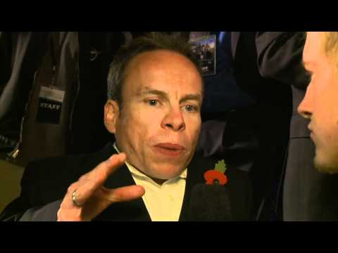 Warwick Davis on the Red Carpet at Warner Bros. Home Entertainment Celebration