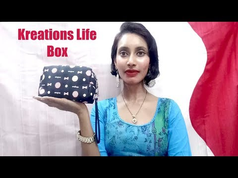 *New Kreations Life Box | First On YouTube | Unboxing & Review | Giveaway | SahiJeeth