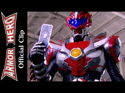 Armor Heroes Fights with Monsters - Official English Clip  [HD 公式] - 69