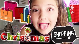 MY FIRST CHRISTMAS SHOPPING! SASSMAS DAY 4!