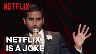 "Aziz Ansari: Buried Alive ""Black Dudes Are Blown Away By"