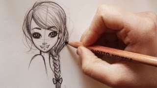 Come Disegnare I Capelli /how To Draw MANGA HAIR3