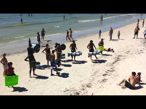 Marcato Drum Line - Fort Myers Beach Shrimp Festival