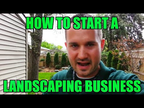 Start a Landscaping Business With No Money