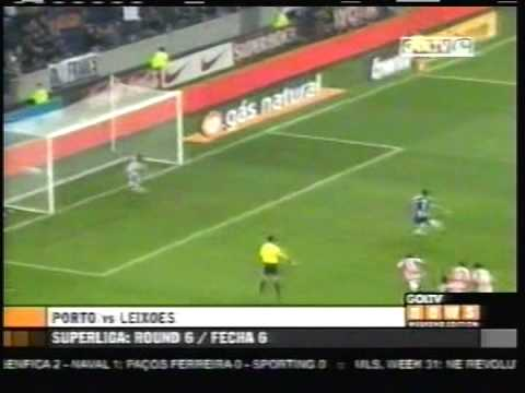 2008 (October 25) Porto 2-Leixões 3 (Portugal Liga Sagres)