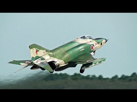 RF-4 Phantom II Takeoff Runway 21L HYAKURI AIR BASE JASDF 3rd