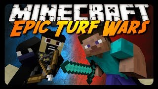 Minecraft: YOU CAN'T MISS THIS MATCH! (Turf Wars Mini-Game)