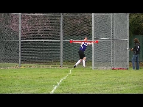 How to throw the Discus 101 (Full Spin)