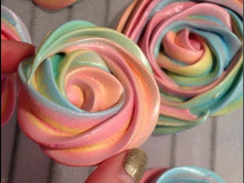 how to make sticky meringues
