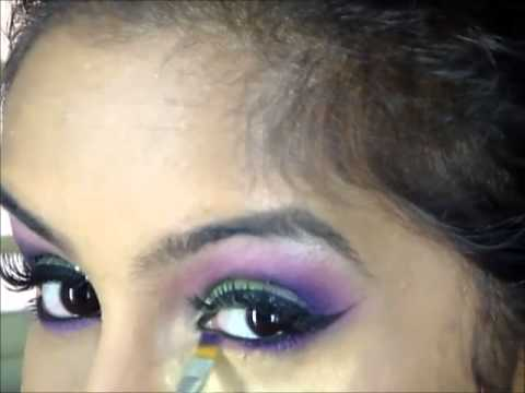 Indian Bridal makeup with Bling