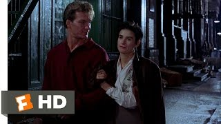 Ghost (1/10) Movie CLIP Finally Talking (1990) HD