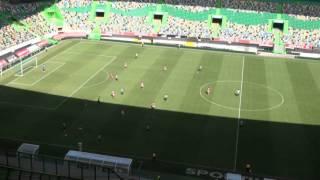 II Liga :: Sporting B - 1 Trofense - 0 de 2013/2014