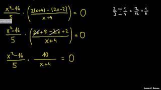 Reševanje racionalnih enačb 4