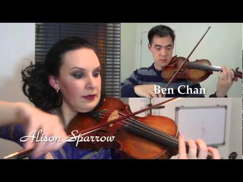 Bach Double Violin Concerto in D Minor - Alison Sparrow & Ben Chan